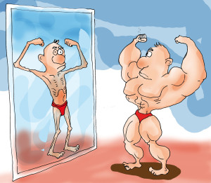 mirror muscles