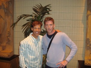 Super Fit Dad meets his hero Dean Karnazes in San Francisco in 2007