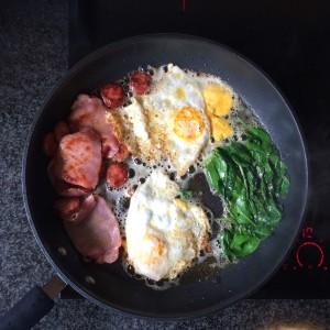 Keto breakfast