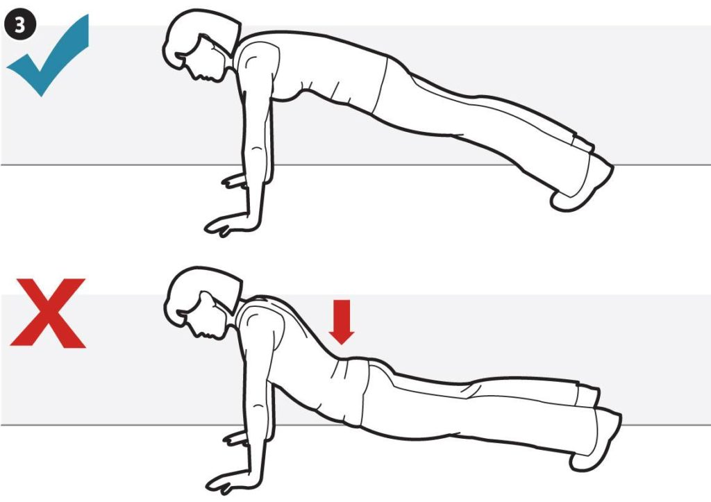 Life Lesson #5 - perfect push ups